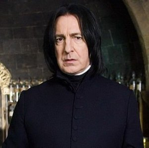 Photo of Professor Snape from Harry Potter.