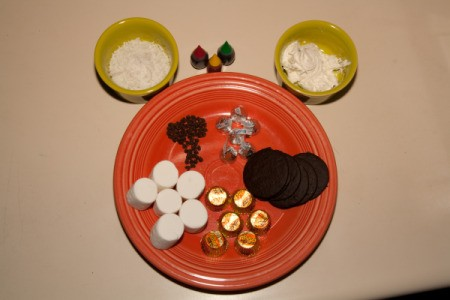 Marshmallow Witch Treat Ingredients
