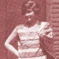 Woman Dressed in Flapper Costume