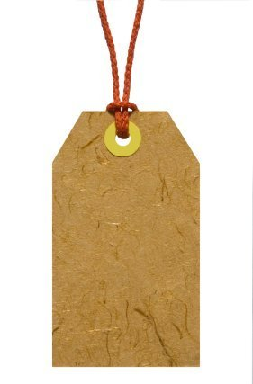 Brown Paper Gift Tag