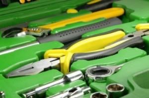 Green Household Tool Box