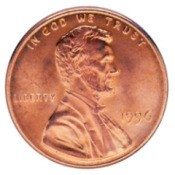 Lincoln head penny