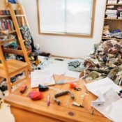 Messy Room Needs Organization