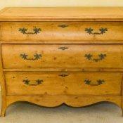 Storing Wood Furniture, Tan Wood Dresser