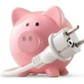 Saving Money on Utilities, Energy Savings Piggy Bank