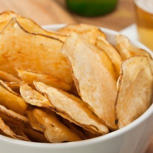 how to make homemade potato chips in oven