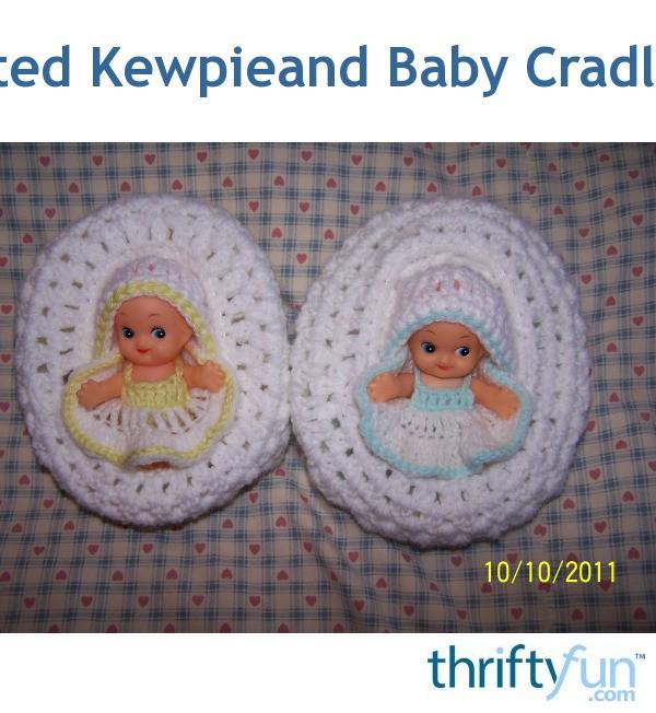 Crochet Cradle Basket Baby Carrier Free Crochet Pattern - Video   652x600