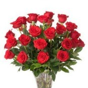 Making Your Cut Flowers Last Longer, Red Roses in a Vase