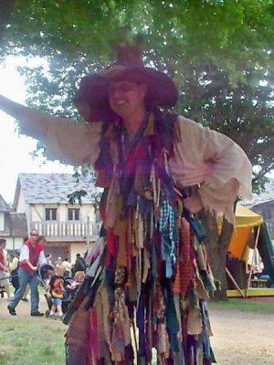 Renaissance Man With Rag Clothes