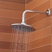 Replacing a Shower Head, Modern shower head.