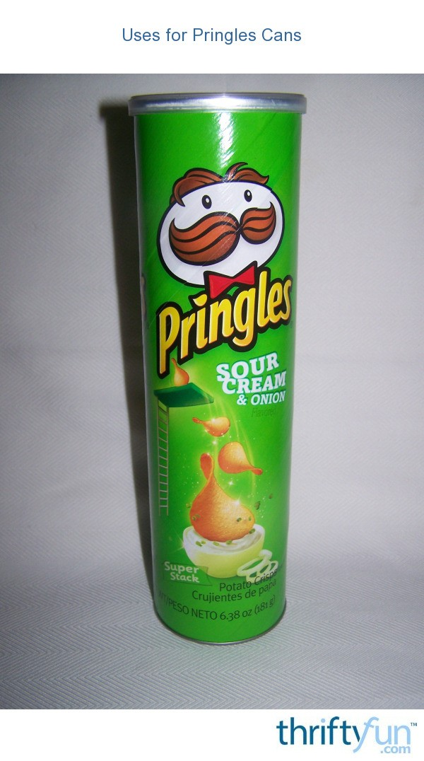 Uses For Pringles Cans Thriftyfun