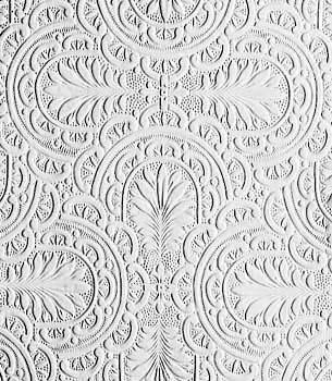 Sample of plume paintable wallpaper.