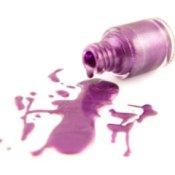 Nail Polish Spill