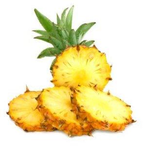 Storing Pineapples, Canning Pineapples. Sliced fresh mini pineapple.