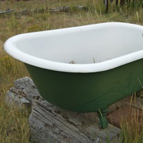 Restoring A Claw Foot Tub An Old Outside