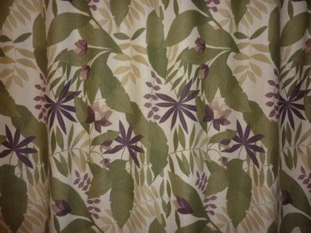 Sample of tropical wallpaper.