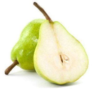 Freshly Cut Pears