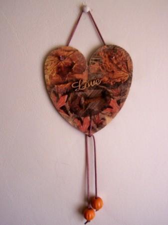 Thanksgiving Heart Decoration