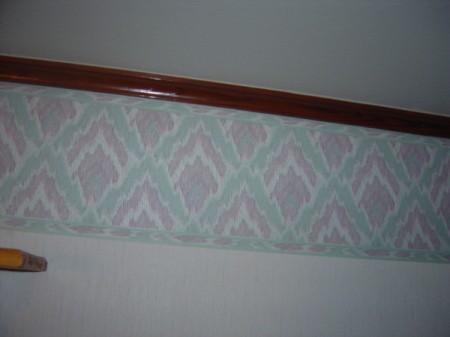 Wallpaper border.