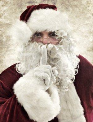 Hushing Santa