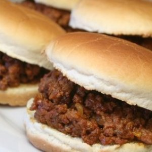 Sloppy joes for a large group.