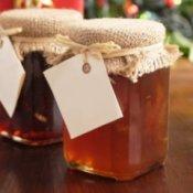 Gift of Homemade Jelly