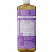 Bottle of Castile soap.