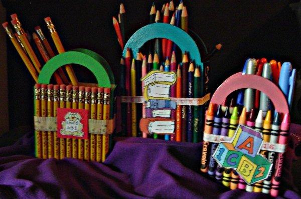 Three Teacher Pencil Box Ideas