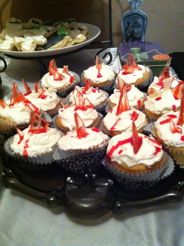Halloween Broken Glass Cupcakes Thriftyfun