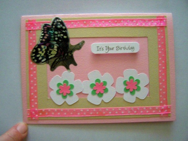 Butterfly Birthday Card