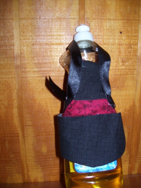 Soap Bottle Apron 1