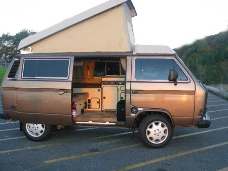 VW Westfalia camper.