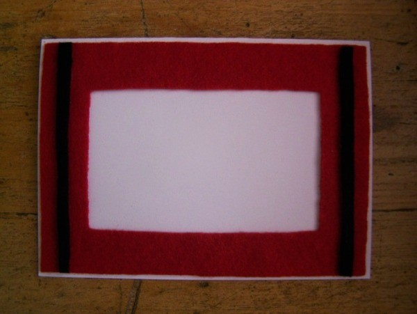 Snowflake Christmas Card Step 4