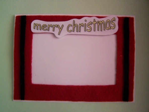 Snowflake Christmas Card Step 5