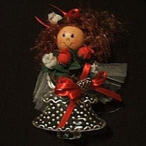 Homemade Christmas Tree Decorations, Christmas angel.