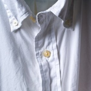 Front of a wrinkled shirt.