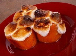 Candied Yam Recipes, Plate of Candied Yams