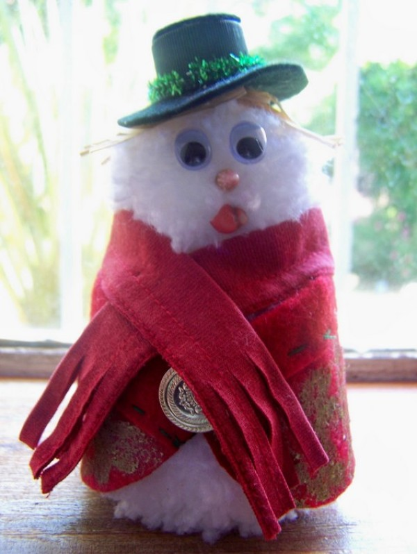 Finished Swagger Snowman