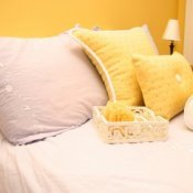Preparing Your Home for Guests, A guest room in a home.