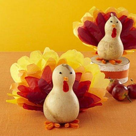 Thanksgiving Turkey Gourd Gobblers