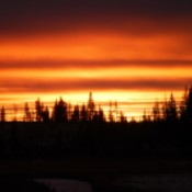 Sunset in Chilcotin