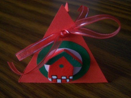 Christmas Chocolate Box Finished
