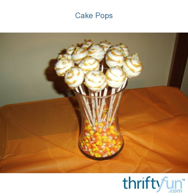 how to make cake pops with cake mix and frosting
