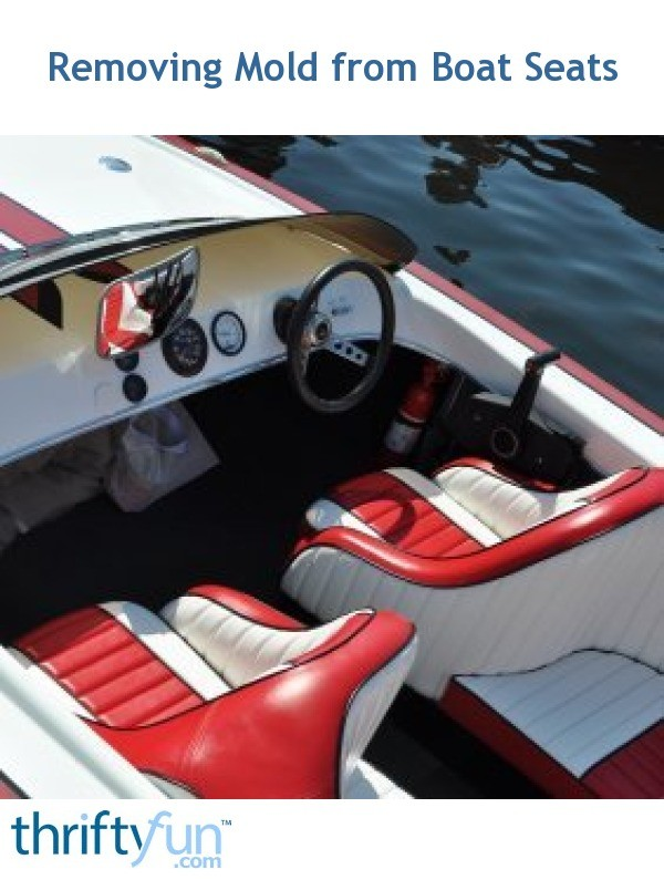 Removing Mold From Boat Seats Thriftyfun