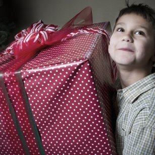 wrapping large gifts thriftyfun
