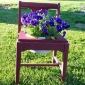 Planter Chair Finished
