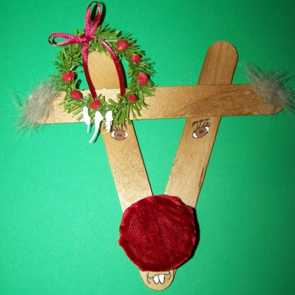 Ruddy Reindeer Ornament