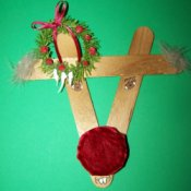 Ruddy Reindeer Ornament