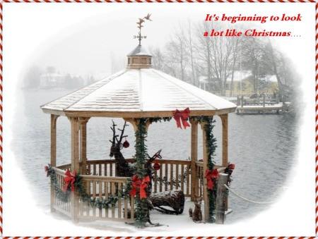 Christmas Dock