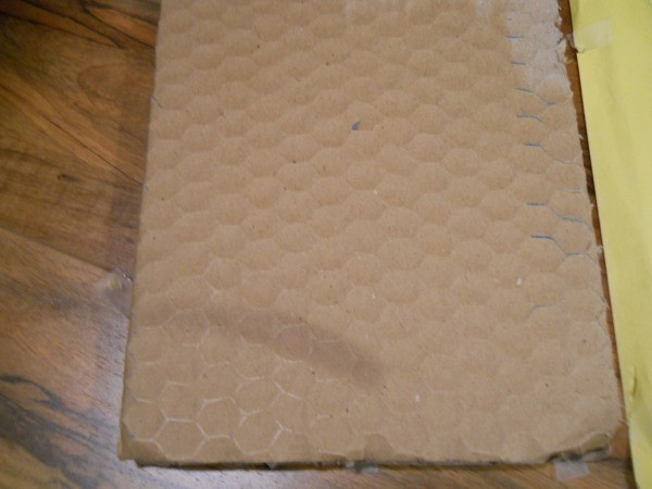 Honeycomb packaging.